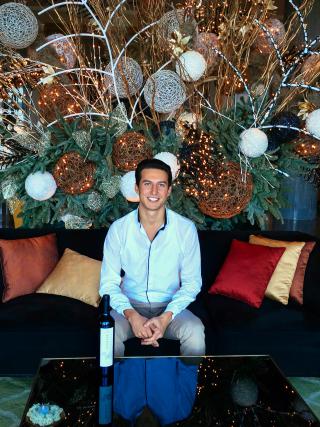 Orkhan Abbasov  foi o condutor da viagem ao mundo vínico do Azerbaijão