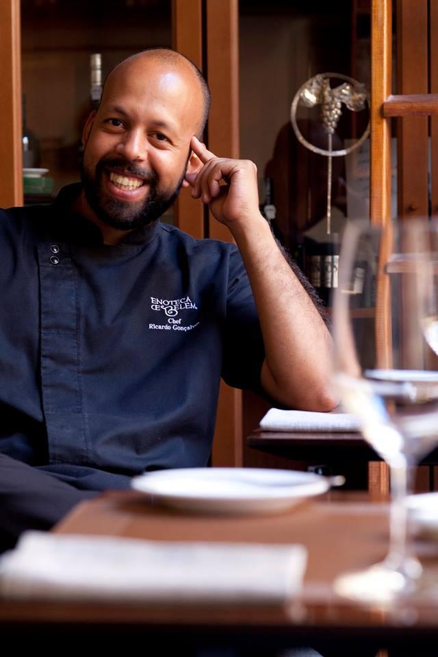 Chef Ricardo Gonçalves Enoteca de Belém
