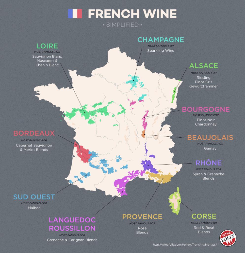 As castas nobres de cada região francesa -La Pétillante